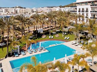 Junior Suite Pool View Aguas de Ibiza