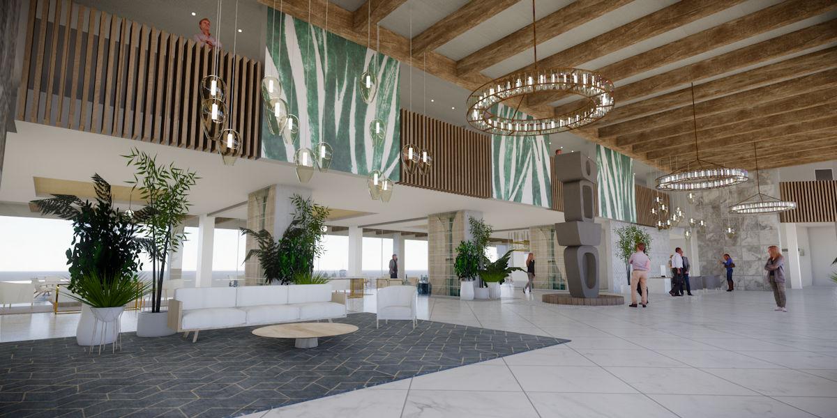 Lobby Hotel Fariones