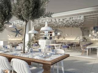 IKOS Andalusia, Ouzo Restaurant