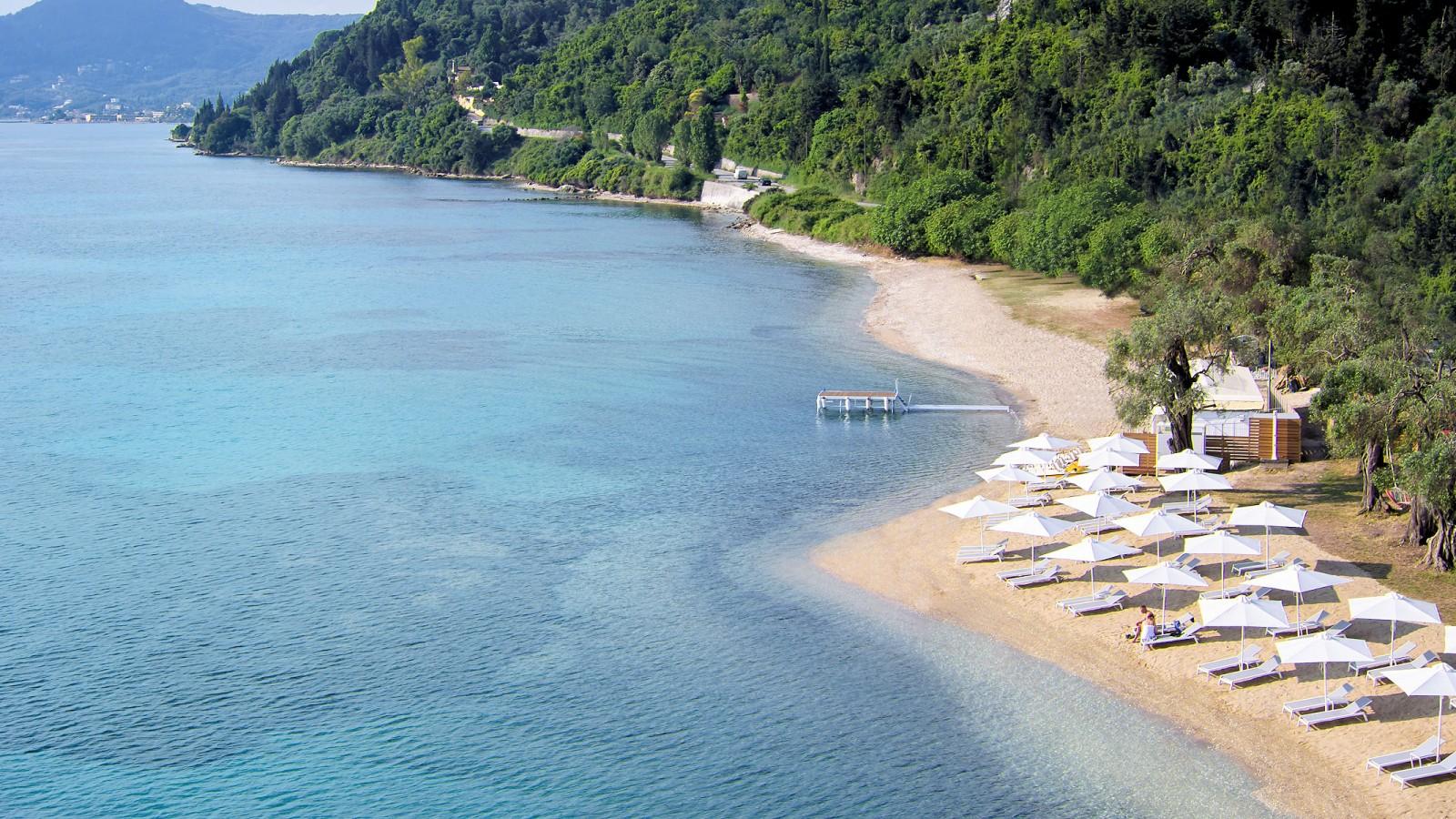 MarBella Nido Beach Aerial View