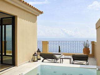 MarBella Nido Grand Terrace Deluxe Suite Whirlpool Sea View