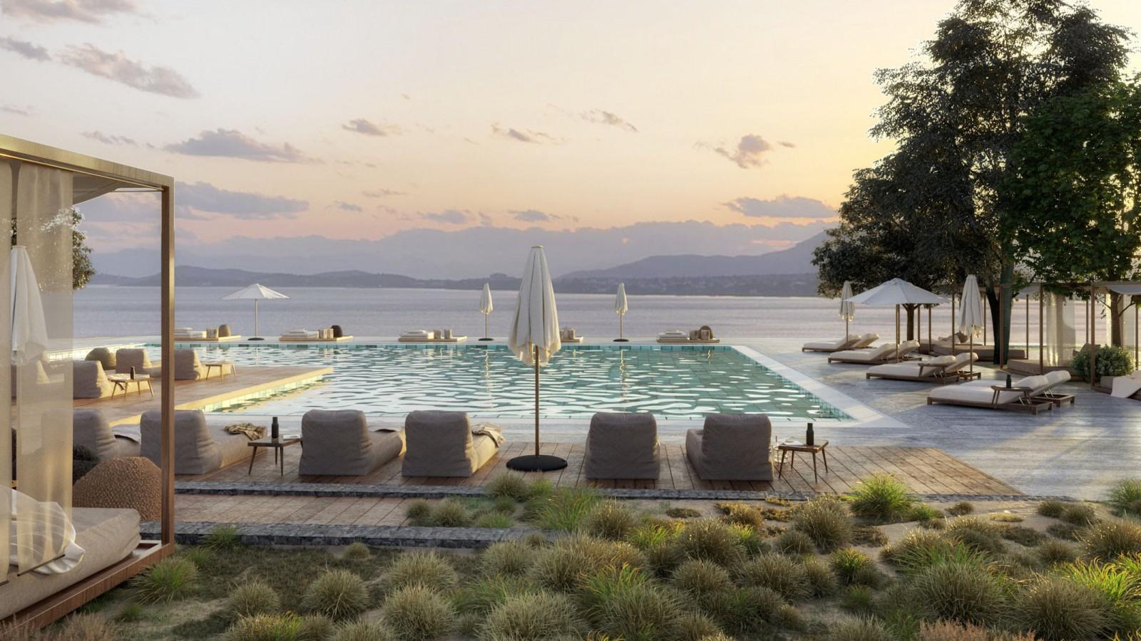 Domes of Corfu Pool