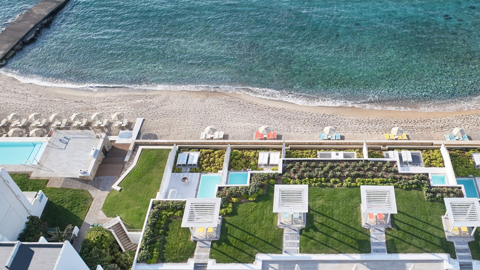 LUX ME White Palace Aerial View