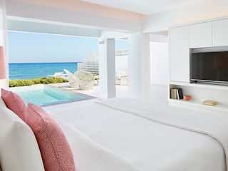 LUX ME White Palace Villa Luxe Yali Seafront with Private Pool, Direct Beach Access Sea View